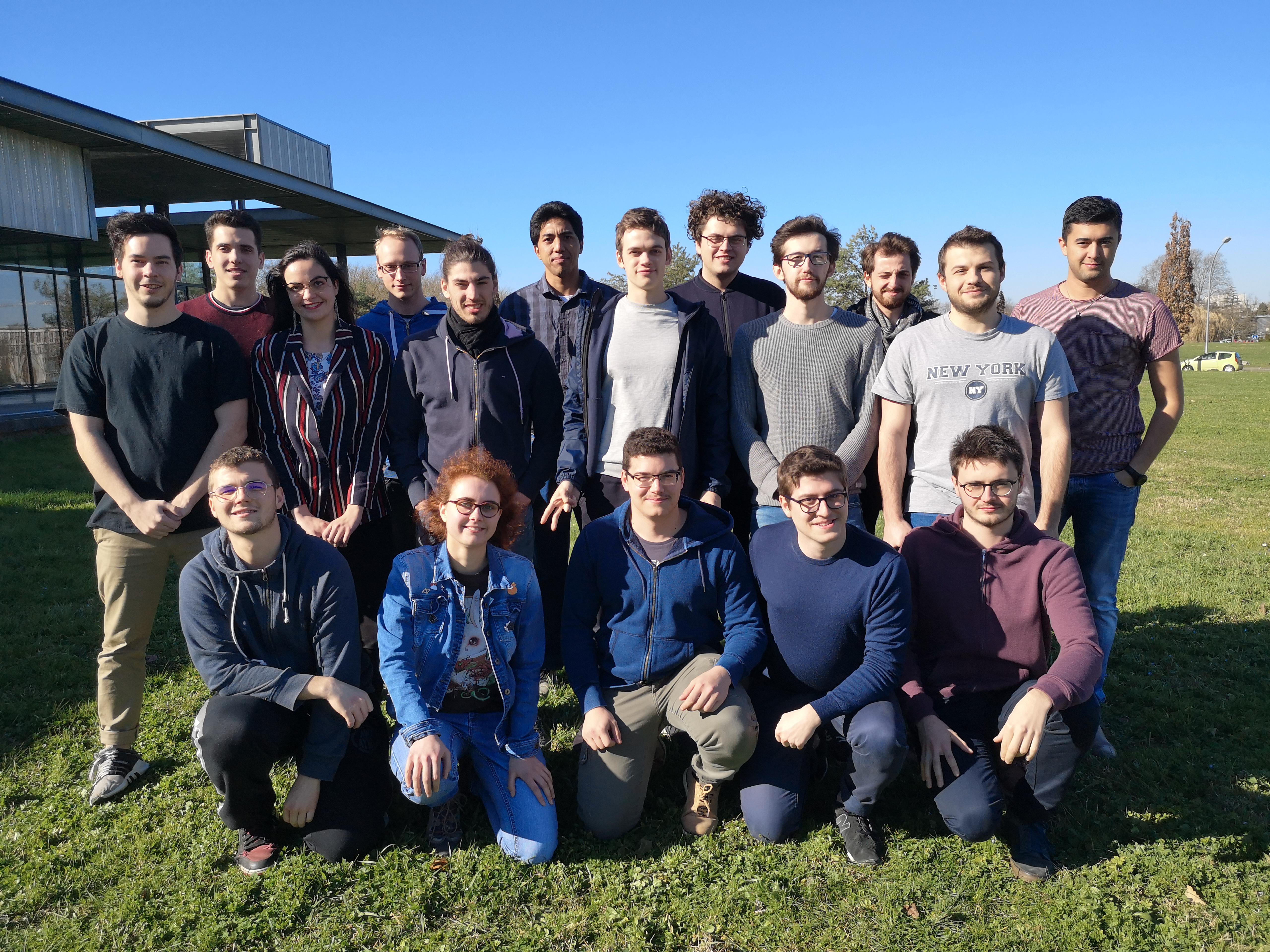 Photo de groupe 2019
